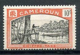 Cameroun, 1925, Lumberjack, Postage Due, 10 C., MH, Michel 4 - Unclassified