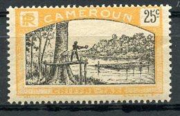 Cameroun, 1925, Lumberjack, Postage Due, 25 C., MH, Michel 7 - Unclassified