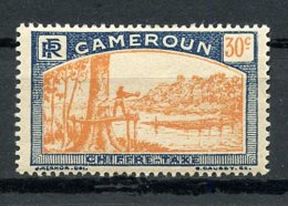 Cameroun, 1925, Lumberjack, Postage Due, 30 C., MH, Michel 8 - Unclassified