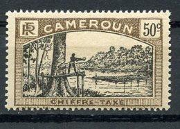 Cameroun, 1925, Lumberjack, Postage Due, 50 C., MH, Michel 9 - Unclassified