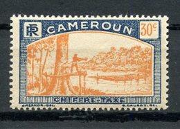 Cameroun, 1925, Lumberjack, Postage Due, 30 C., MNH, Michel 8 - Cameroun (1915-1959)