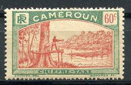 Cameroun, 1925, Lumberjack, Postage Due, 60 C., MH, Michel 10 - Cameroun (1915-1959)