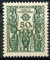 Cameroun, 1939, Postage Due, 50 C., MNH, Michel 19 - Cameroun (1915-1959)