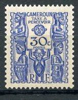 Cameroun, 1939, Postage Due, 30 C., MLH, Michel 18 - Non Classificati