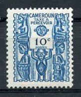 Cameroun, 1944, Postage Due, 10 C., MNH, Michel 24 - Camerun (1915-1959)