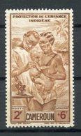 Cameroun, 1942, Children's Aid, Welfare, Airmail, MNH, Michel 246 - Non Classificati