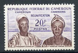 Cameroun, 1962, Reunification, Reunion, 20 Fr., MNH, Michel 344 - Kamerun (1960-...)