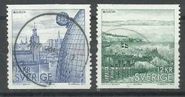 Svezia 2012, Europa (o), Serie Completa - Used Stamps