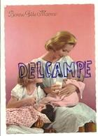 Bonne Fête Maman. Maman, Petite Fille, Bébé Et Biberon. G.P. La Rose 387. Editions Picard - Fête Des Mères