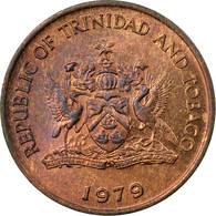 Monnaie, TRINIDAD & TOBAGO, Cent, 1979, Franklin Mint, TTB, Bronze, KM:29 - Trinité & Tobago