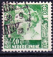 Niederl. Indien - Königin Wilhelmina (Mi.Nr. 221) 1934 - Gest. Used Obl - Niederländisch-Indien