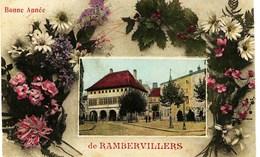 11- 2726 - Vosges - BONNE  ANNEE  De  RAMBERVILLERS      -  Circulée 1911 - Rambervillers