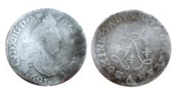 LOUIS XIV 4 Sols Aux 2 L 1691 A (Paris) - 987-1789 Monnaies Royales