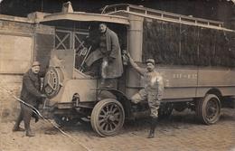 Autocar Bus Guerre 1914 - Bus & Autocars