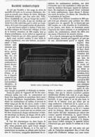 MACHINE RHEOSTATIQUE  1878 - Scienze & Tecnica