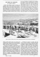 LES MINES DE DIAMANTS De L'AFRIQUE AUSTRALE  1878 - Techniek