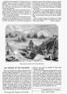 LES INDIENS DU RIO COLORADO  1878 - Technical