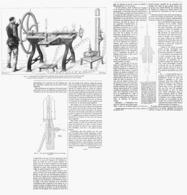 LA LIQUEFACTION DES GAZ Experiences De M.CAILLETET  1878 - Scienze & Tecnica