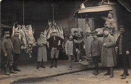 Autocar Bus Guerre 1914 Boucherie - Bus & Autocars