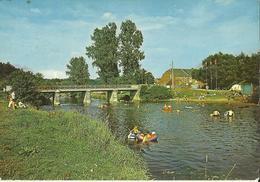 Wanlin  Sur Lesse -- Le Camping Et Les Bains.    (2 Scans) - Houyet