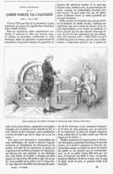 LUMIERE PRODUITE Par L'ELECTRICITE Apercu Historique   1878 - Tabac (objets Liés)