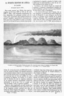 LA RECENTE ERUPTION De L'HECLA En ISLANDE Fevrier-mars 1878  ( ISLANDE )  1878 - Iceland