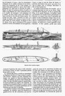 """LE BATEAU-TORPILLE """" YARROW """"   1878 - Autres"""