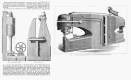 MACHINES-OUTILS à TRANSMISSION HYDRAULIQUE  1878 - Technical
