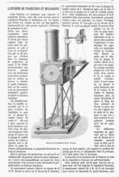 LANTERNE De PROJECTION Et MEGASCOPE De M . LAURENT  1878 - Other