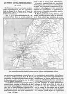 LE BUREAU CENTRAL METEOROLOGIQUE De FRANCE  1878 - Technical