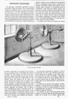 GYROSCOPE ELECTRIQUE   1878 - Otros