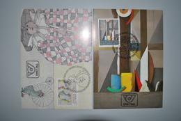 Autriche 1984/85 Cartes Premier Jour - Entiers Postaux