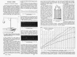 MOTEURS ANIMES Experiences De PHYSIOLOGIE GRAPHIQUE    1878 - Techniek