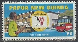 1980 UPU, Sorting Letters, Used - Papua New Guinea