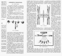 ANEMOMETRE ENREGISTREUR De M.HERVE MANGON  1878 - Technical