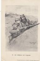 GOOD CARITAS POSTCARD - Les Conseils De L'Ancien - Georges Scott - Militaria