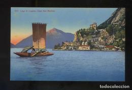 Como. *Lago Di Lugano. Capo San Martino* Circulada. - Como