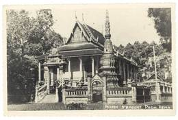 Cpsm Cambodge , Pnom Penh - Pagode D'Argent - Cambodge