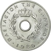 Monnaie, Grèce, 20 Lepta, 1969, SUP, Aluminium, KM:79 - Grèce