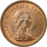 Monnaie, Jersey, Elizabeth II, 1/2 New Penny, 1980, TTB, Bronze, KM:29 - Jersey