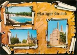 MARTIGNE BRIAND  Le Jardin La Piscine    12  (scan Recto-verso)MA1902Bis - Sonstige Gemeinden