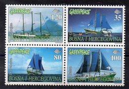 BOSNIE HEREGOVINE  Timbres Neufs ** De 1997   ( Ref 5751 ) Geenpeace - Bosnie-Herzegovine