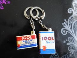 2  PORTE  Igol - Key-rings