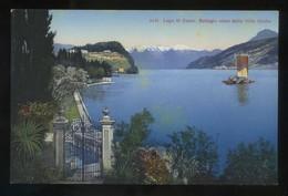 Lombardia. *Lago Di Como. Bellagio Visto Dalla Villa Giulia* Ed. P. Bender Nº 5174. Nueva. - Otras Ciudades