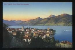 Lombardia. *Lago Di Como. Saluti Di Menaggio* Ed. P. Bender Nº 5182. Nueva. - Otras Ciudades