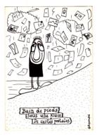 Carte Illustrée Par Filipandré (tirage Limité à 250 Exemplaires) Bain De Pieds Sous Une Pluie De Cartes Postales - Pas C - Filipandre