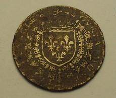 1589 - France - Jeton - Token - HENRI III - Chambre Des Monnaies - CVRIA MONETAR FRANCAE - Royal / Of Nobility