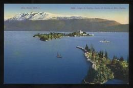 Lombardia. *Lago Di Garda. Isola Di Garda E Mte. Baldo* Ed. P. Bender Nº 5232. Nueva. - Otras Ciudades