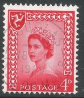 Isle Of Man. 1968-69 QEII. 4d Used. SG 6 - Isola Di Man