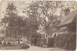 76 Villequier Hotel Du Grand Sapin L.DUHAMEL Propriètaire - Villequier
